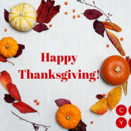 Happy Thanksgiving! And…