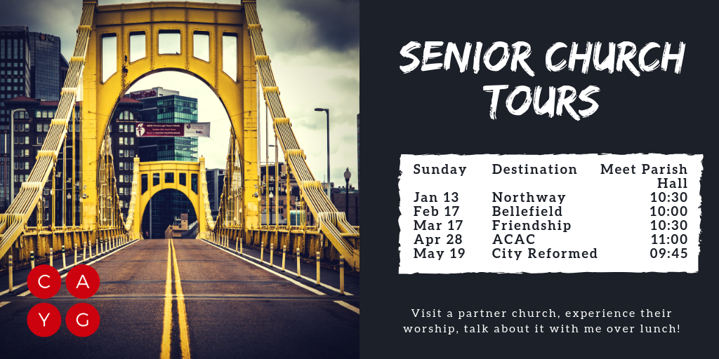 senior church tours