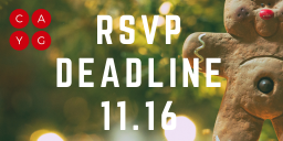 Overnight RSVP Deadline!