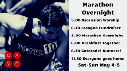 RSVP: Marathon Overnight