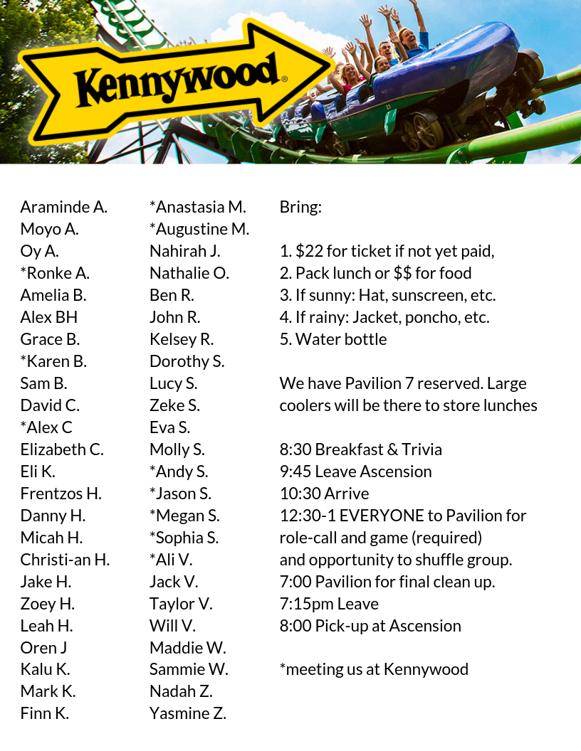 Kennywood Guide 2019b