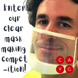 $100 Clear Mask Competition