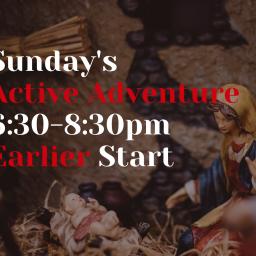 Active? Earlier!
