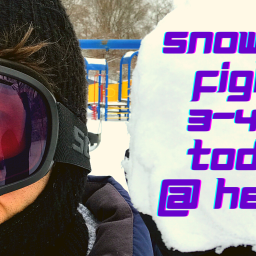 Snowball Fight @ 3
