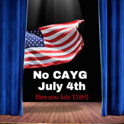 NO CAYG 4th OF JULY!